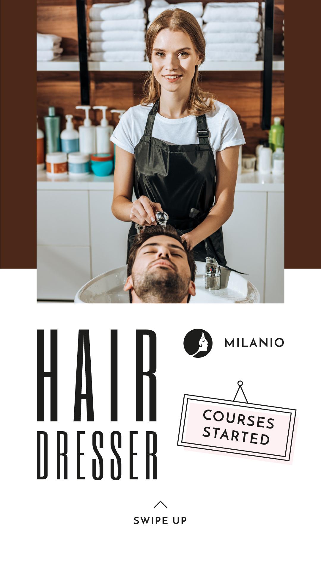 Hair Salon Templates Free Graphic Design Template Crello