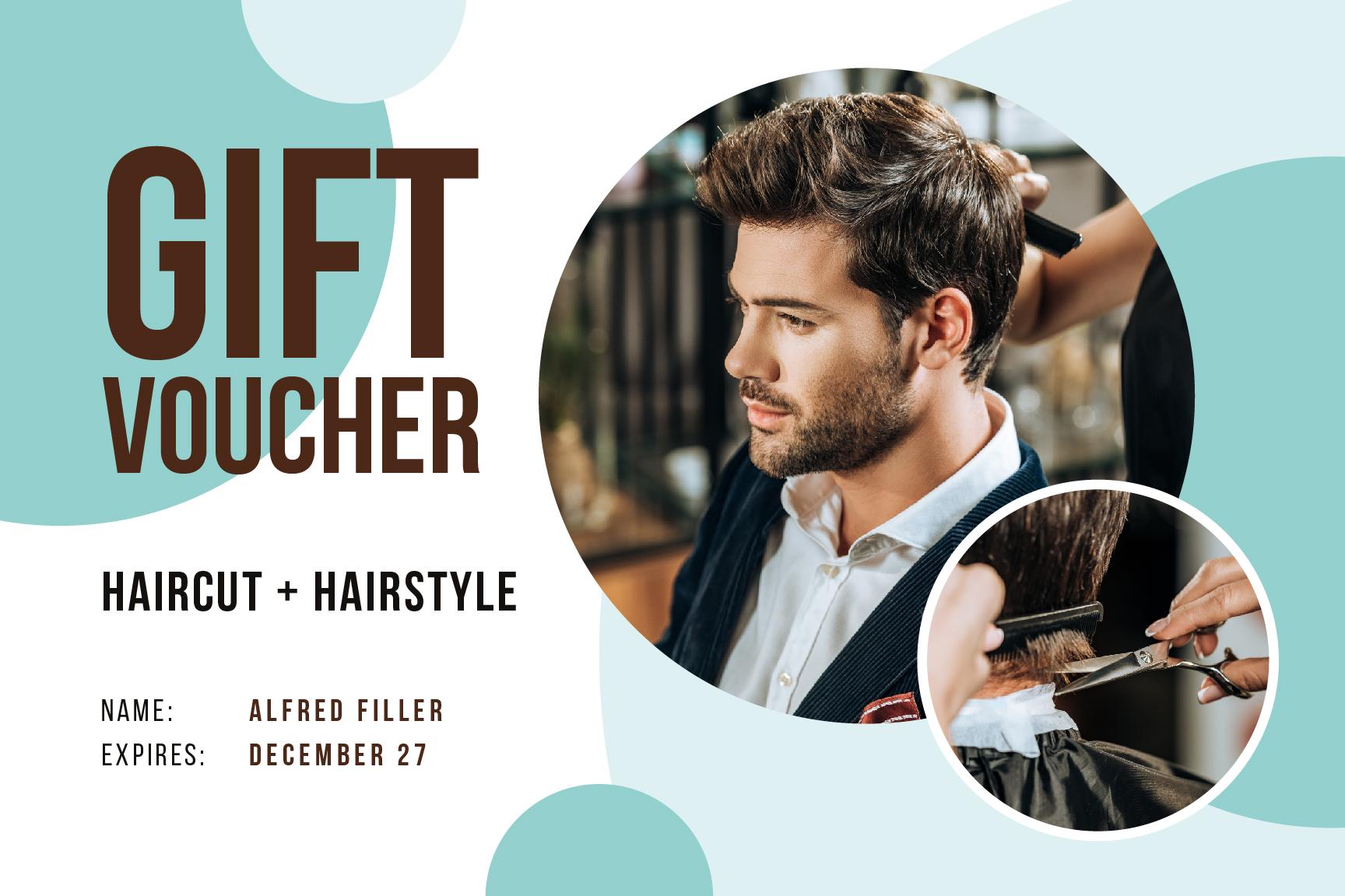 Haircut Templates Free Graphic Design Template Crello